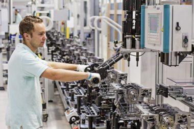 Tschechische Industrie meldet Aufwärtstrend