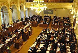 Tschechisches Parlament hat die Erhöhung von Umsatzsteuer und Einführung der Reichensteuer verabschiedet